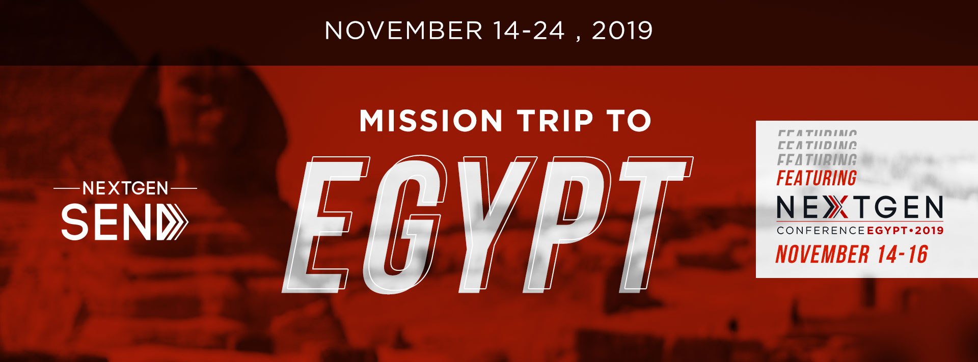Nextgen mission trip to egypt